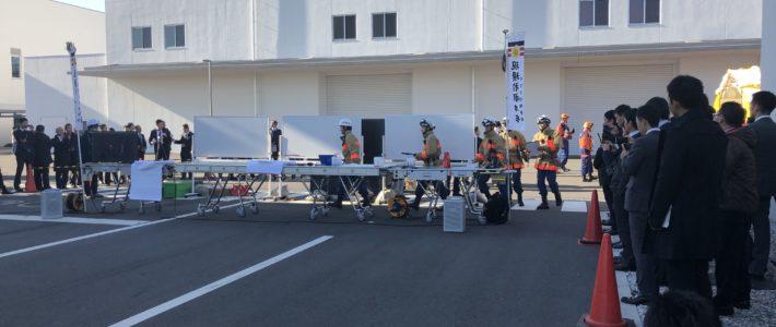 会員企業が千葉県消防学校で最新のCBRNE訓練を実施しました
